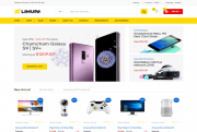 Limupa Store eCommerce HTML Templates Free Download